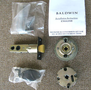 Baldwin 5399 H For Active Sectional And Escutcheon