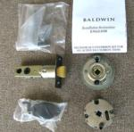 Baldwin 5399 H For active Sectional and Escutcheon handlesets with Interior Levers including Single