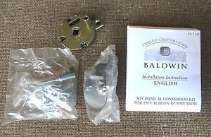 Baldwin 5399.k For Full Dummy (FD or LRFD) Sectional, Escutcheon, and Emergency Egress handlesets wi
