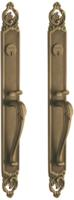 Baldwin 6956.bb30 Victoria Back-to-back Mortise Entry Set Up To 3in. Thick Door
