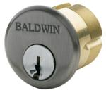 "Baldwin 8323 1.25"" Mortise Cylinder C Keyway"