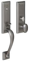 Baldwin M502 Cody 3/4 Escutcheon Complete Entry Set With Lockbody And Cylinder Shown With Oval Knob
