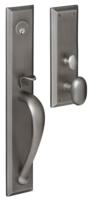 Baldwin M504 Cody Full Escutcheon Complete Entry Set With Lockbody And Cylinder, Shown With Oval Kno