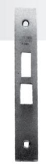 Baldwin  6800-0004  Armored Front for Latch/Deadbolt/Stops 1.25 in. wide front and 0.5 in. wide latc